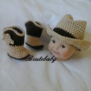 Cowboy 0-3 Month nth set